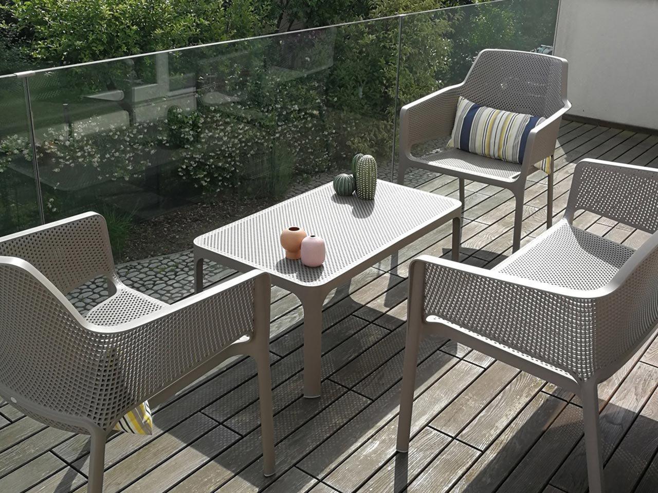 Scopri i Testimonial del prodotto Set salotto da giardino Net Relax Bench
