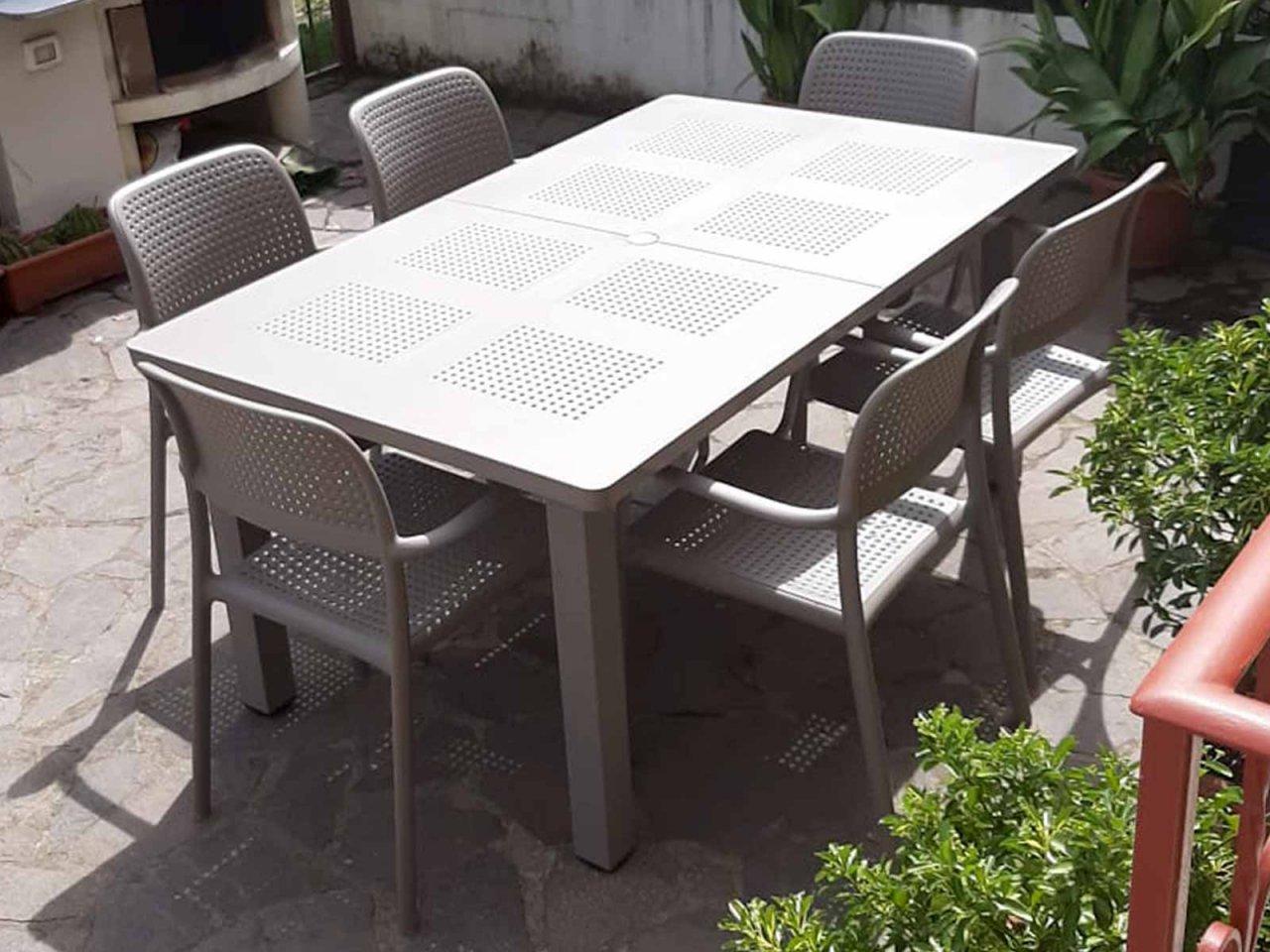 Scopri i Testimonial del prodotto Set tavolo Levante 160/220 con 6 sedie Bora
