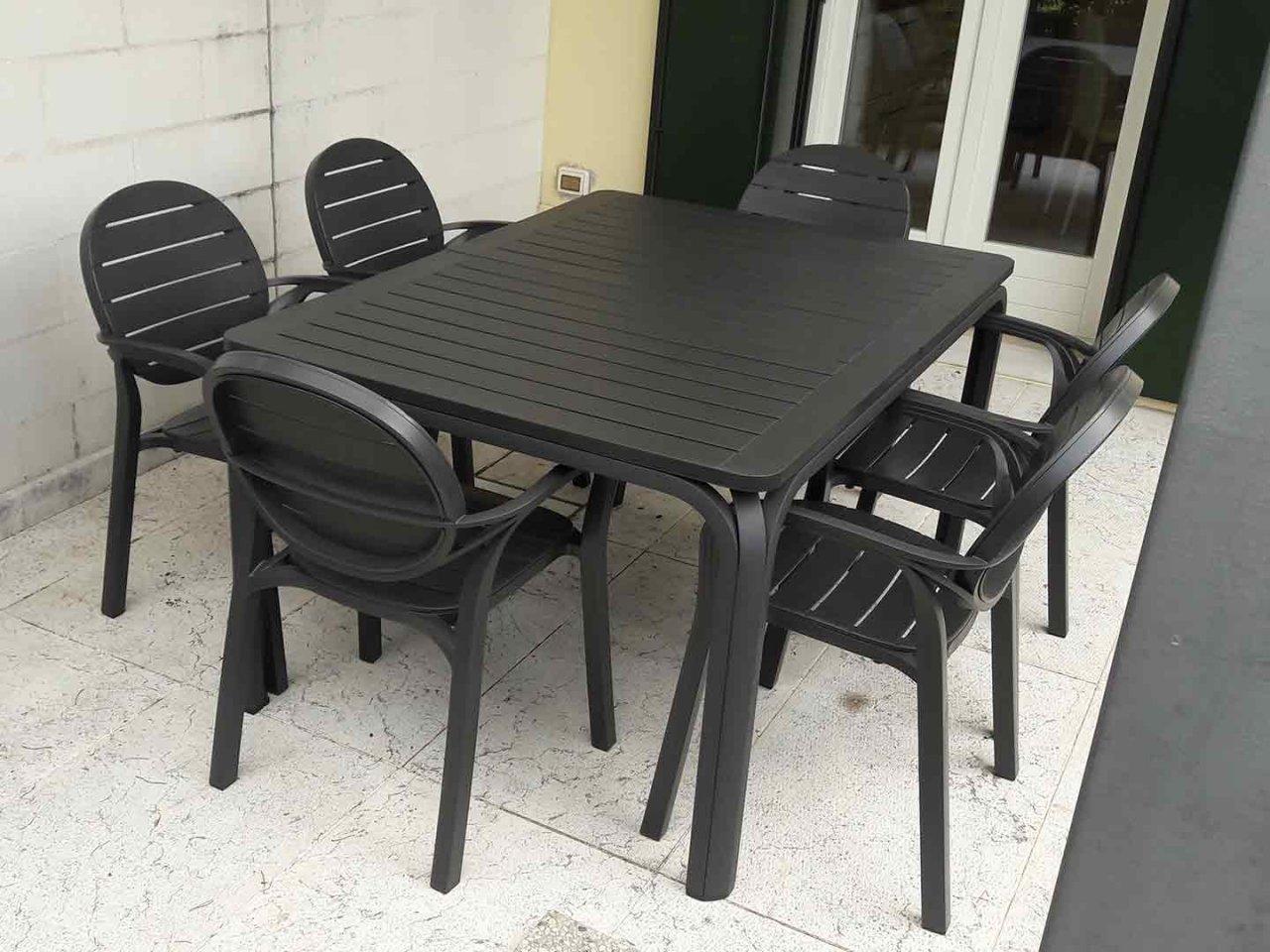 Scopri i Testimonial del prodotto Set tavolo Alloro 140/210 con 6 poltrone Palma