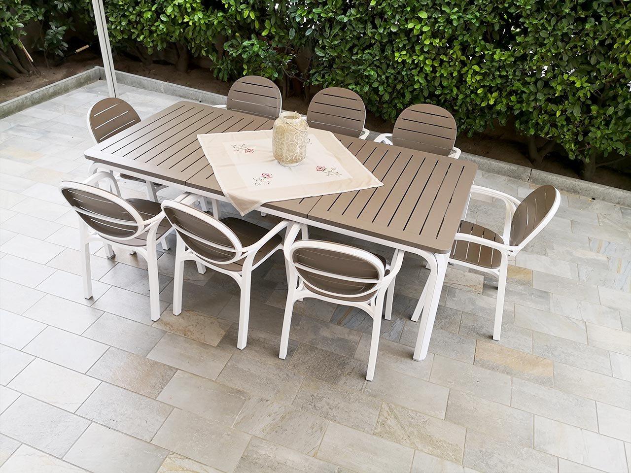 Scopri i Testimonial del prodotto Set tavolo Alloro 210/280 con 8 poltrone Palma